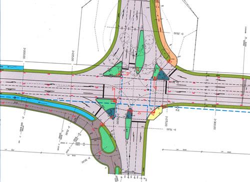 Kreuzungsbauwerk Evershagen Bauplan
